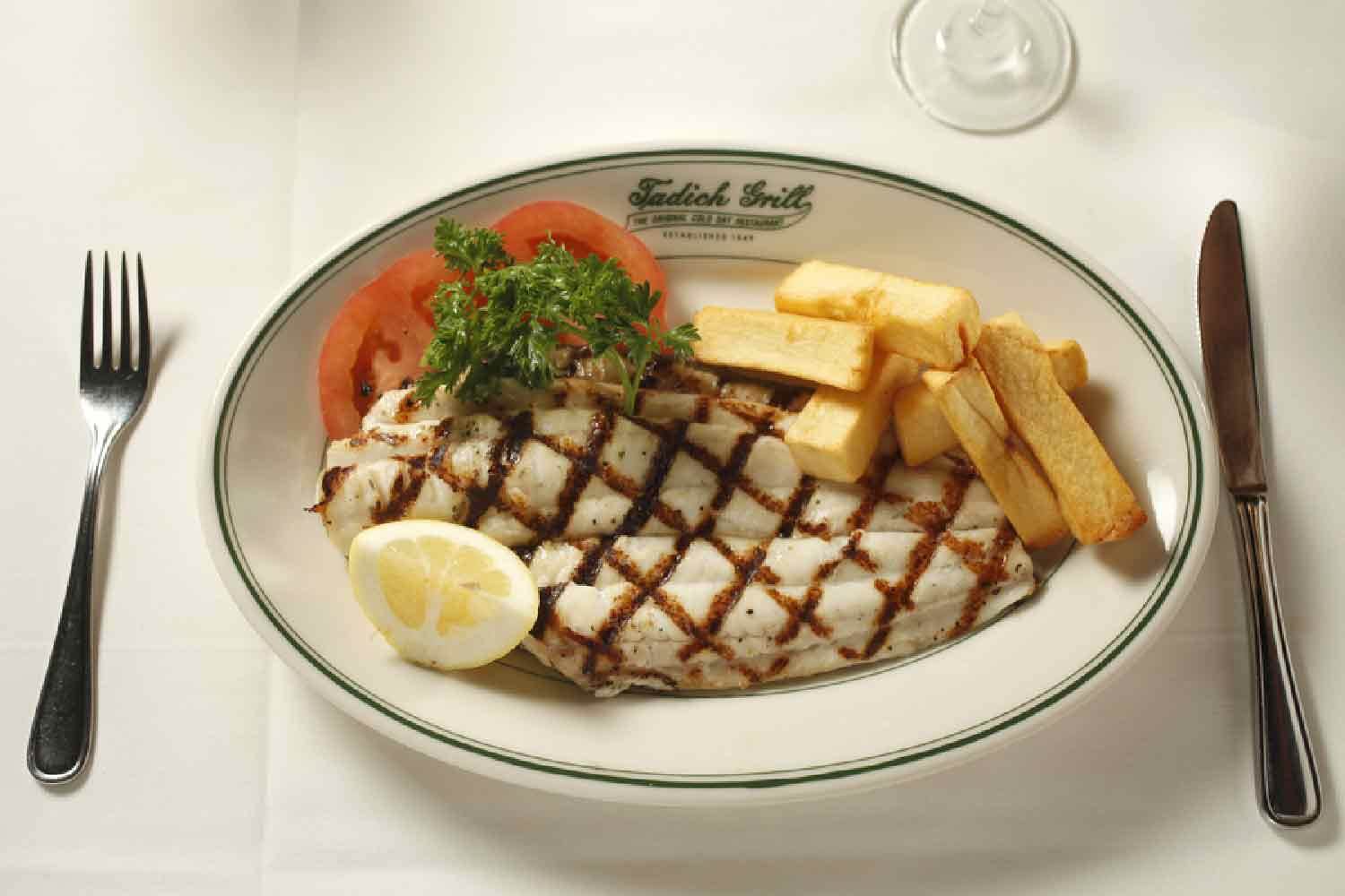Broiled Petrale Sole