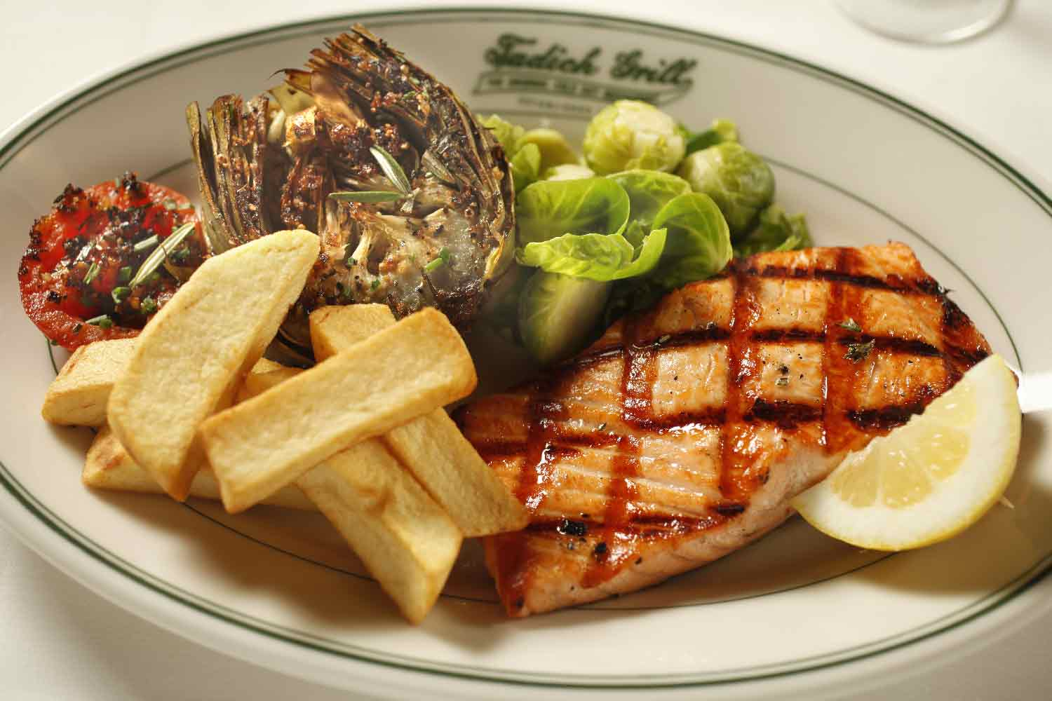 Mesquite Broiled Salmon