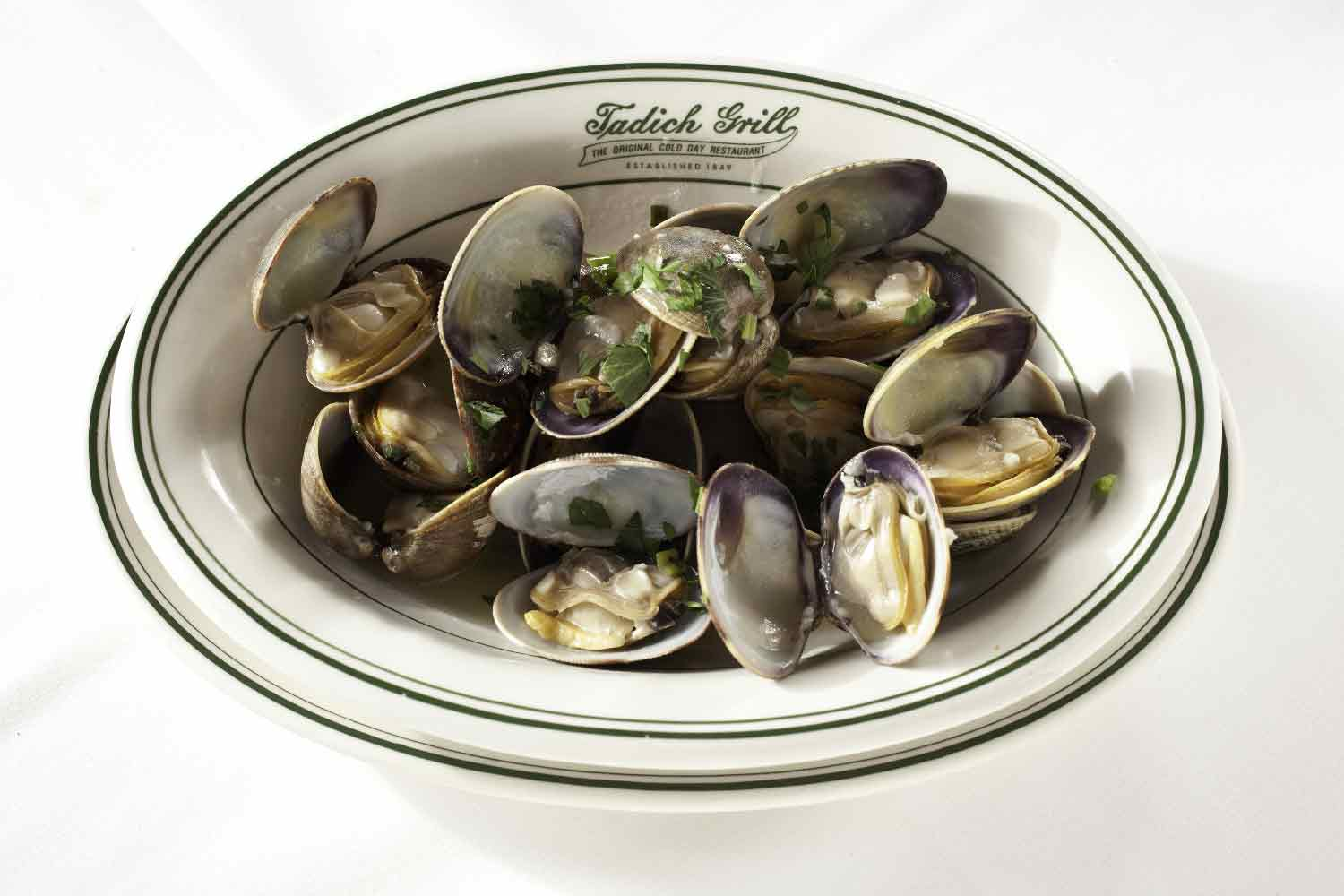 Tadich Grill Steamed Clams